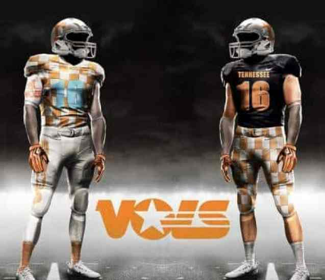Tennessee Volunteers Nike Pro Combat Concept Uniforms 3