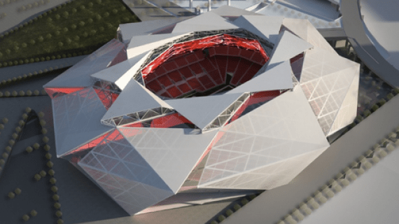 atlanta falcons new stadium designs
