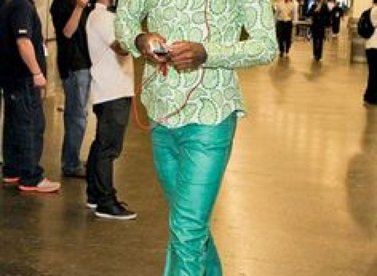 paul george prgame outfit green
