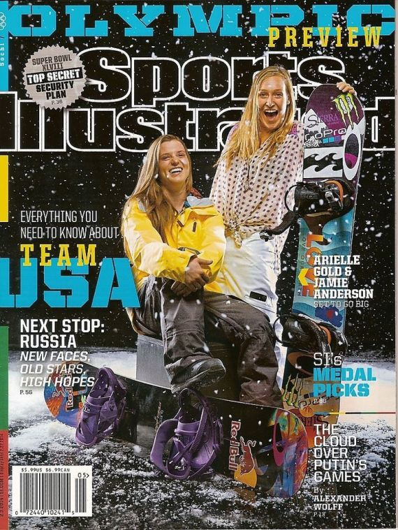 arielle gold jamie anderson sports illustrated cover