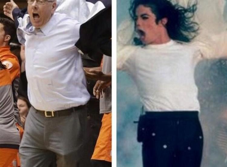jim boeheim michael jackson jacket meme
