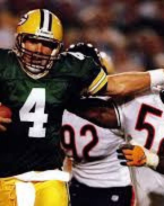 brett favre bear forearms