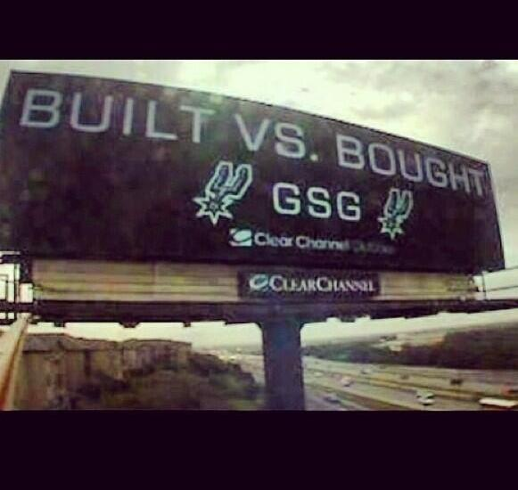 built bought spurs heat billboard