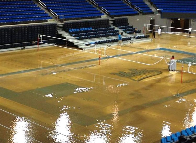 pauley pavilion flooded water 1