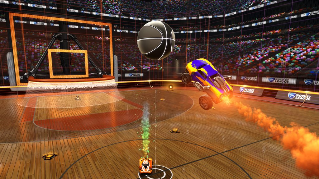 Basketball is Coming to Rocket League