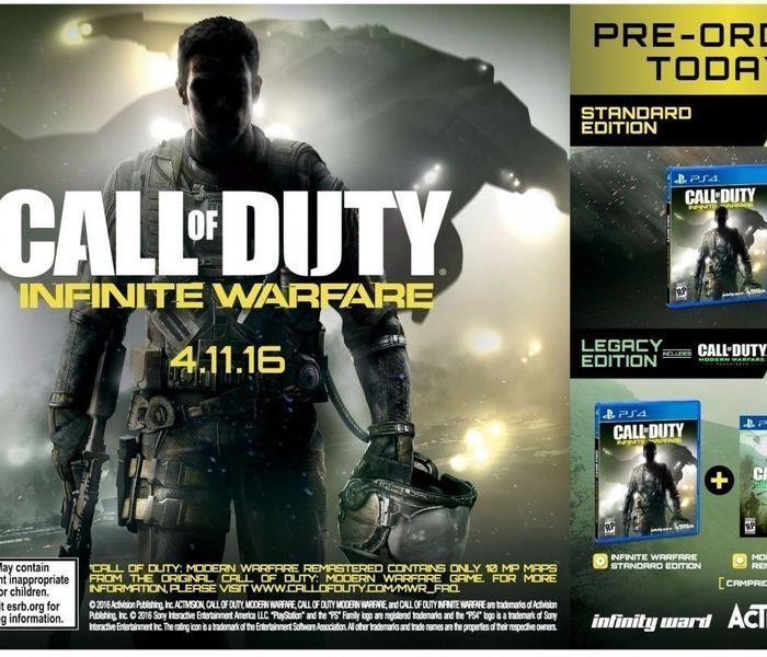 Llega Call of Duty Infinite Warfare con Modern Warfare Remastered