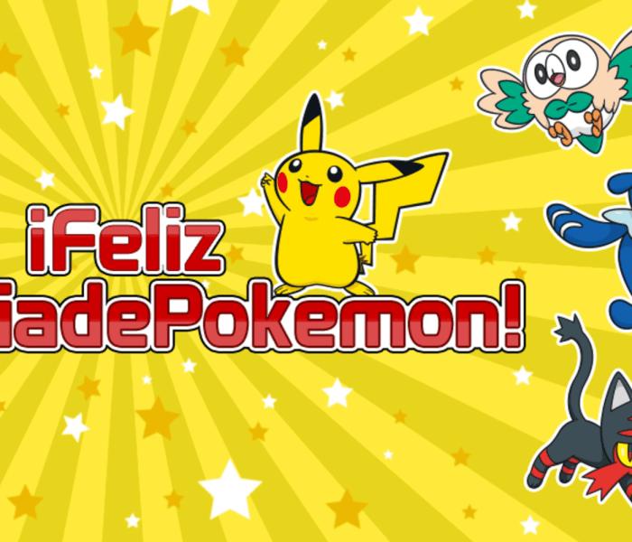 ¡Feliz Día de Pokémon!