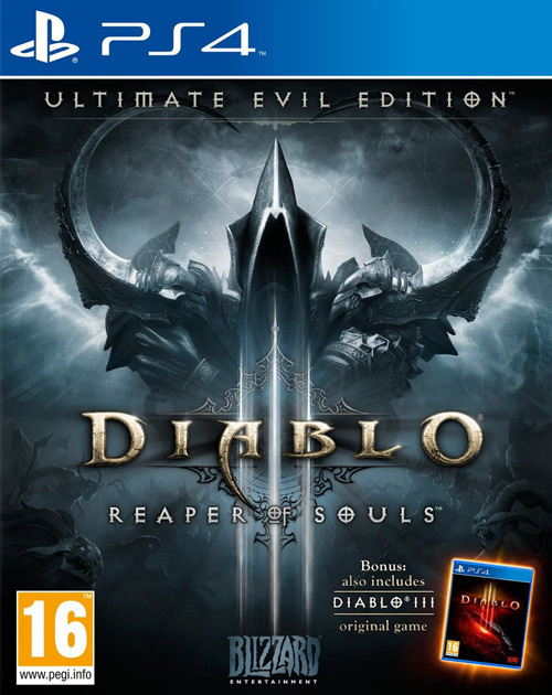 Diablo III: Reaper of Souls - Ultimate Evil Edition PS4 Cover