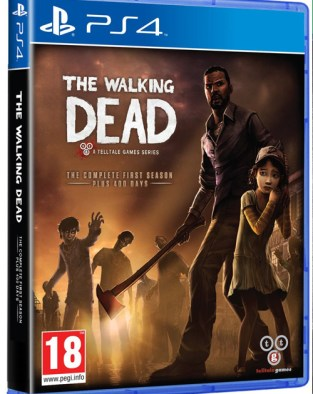 The Walking Dead: The Complete First Season PS4 Cover