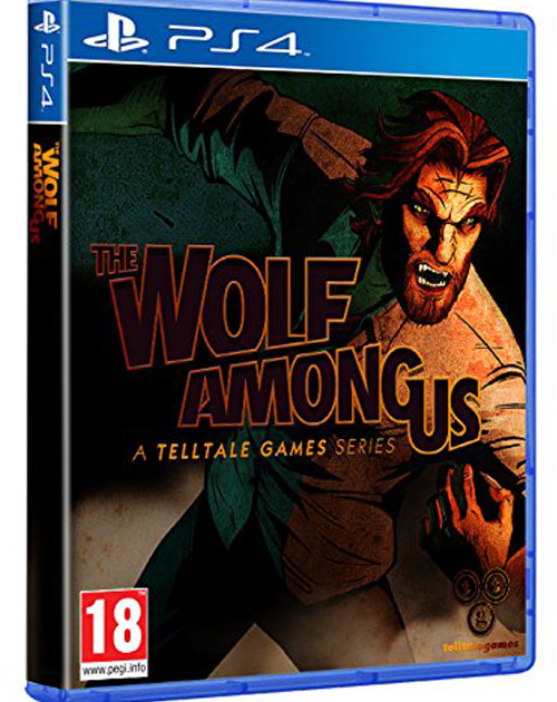 The Wolf Among Us PS4 Cover