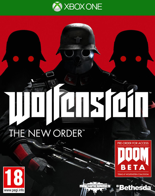Wolfenstein: The New Order XBOX One Cover