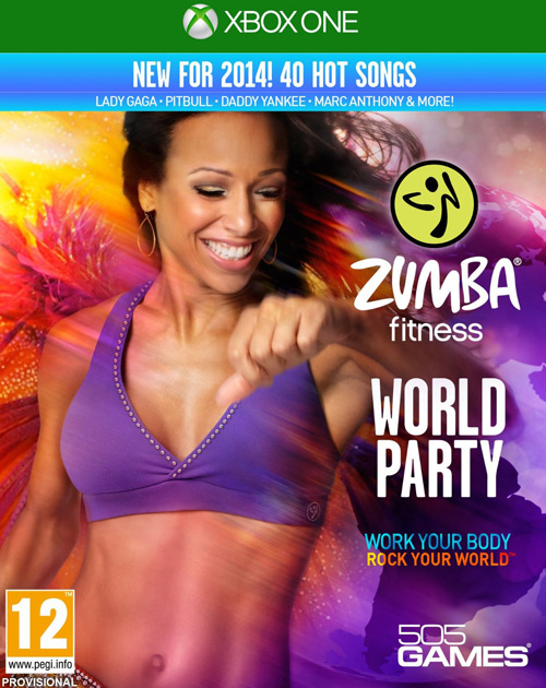 Zumba Fitness: World Party XBOX One Cover
