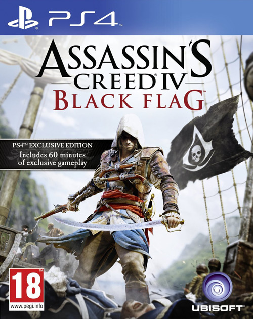 Assassin's Creed IV: Black Flag PS4 Cover