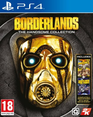 Borderlands: The Handsome Collection PS4 Cover