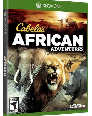 Cabela's African Adventures XBOX One Cover