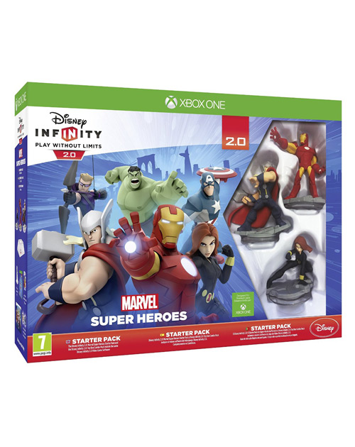 Disney Infinity: Marvel Super Heroes - 2.0 Edition XBOX One Cover