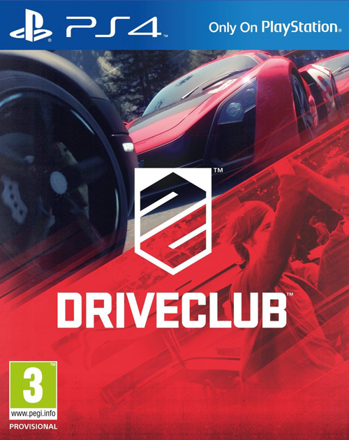 DriveClub PS4 Cover