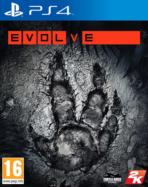 Evolve PS4 Cover