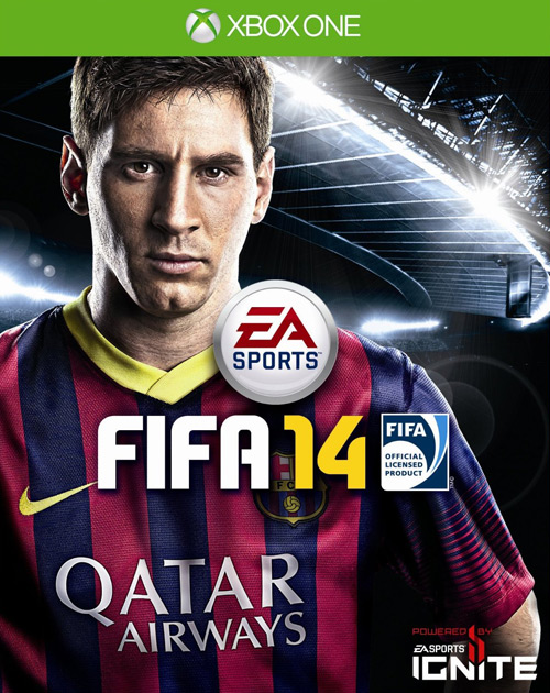 FIFA 14 XBOX One Cover