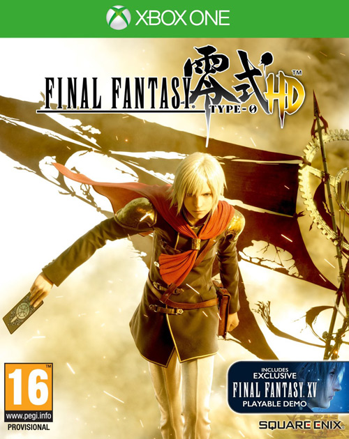 Final Fantasy Type-0 HD XBOX One Cover