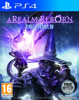 Final Fantasy XIV: A Realm Reborn PS4 Cover