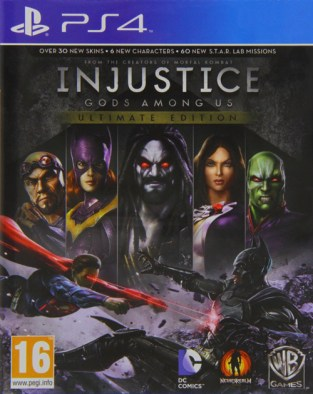 Injustice: Gods Among Us - Ultimate Edition PS4 Cover