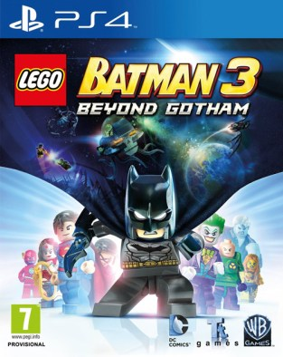 LEGO Batman 3: Beyond Gotham PS4 Cover