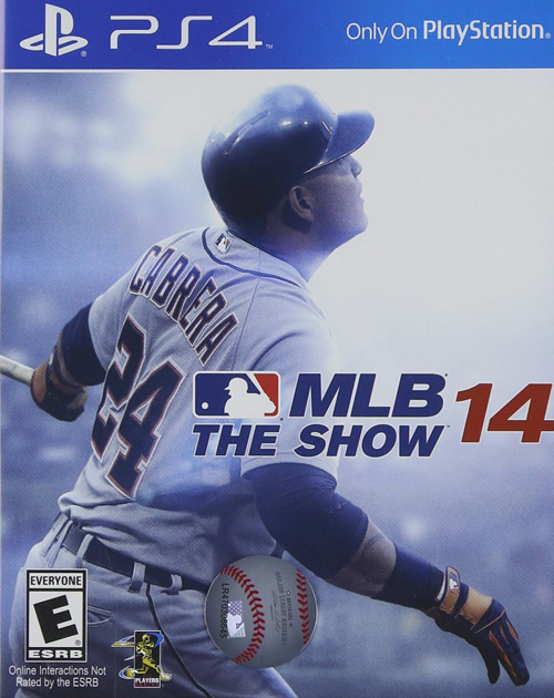 MLB 14: The Show PS4 Cover