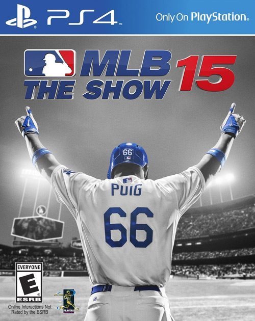 MLB 15: The Show PS4 Cover