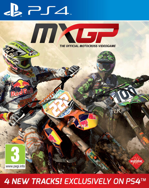 MXGP: The Official Motocross Videogame PS4 Cover
