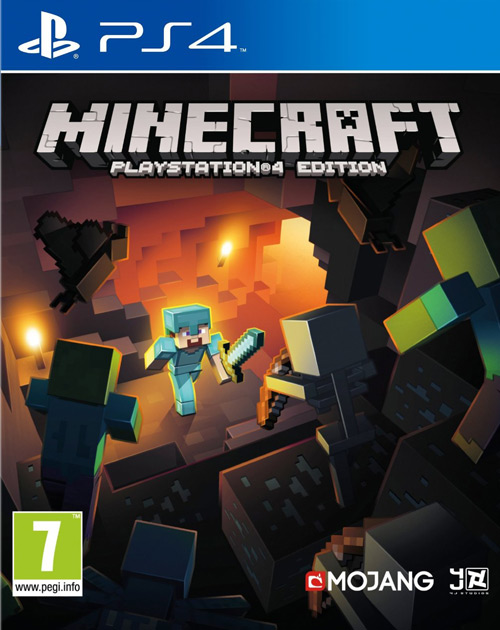 Minecraft: PlayStation 4 Edition PS4 Cover