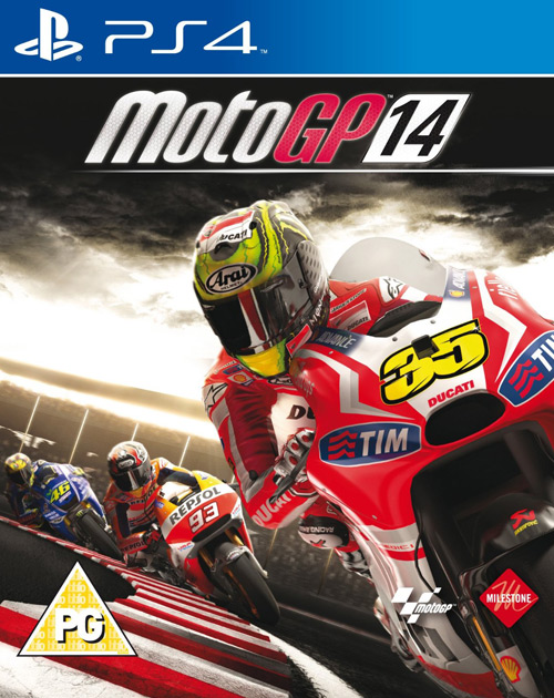 MotoGP 14 PS4 Cover