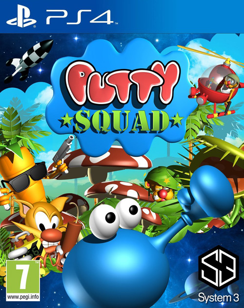 Putty Squad PS4 Cover