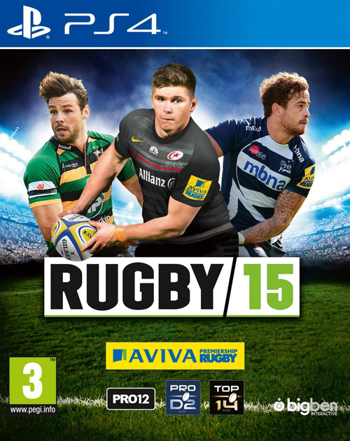 Rugby 15 PS4 Cover