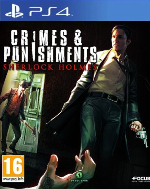 Sherlock Holmes: Crimes & Punishments PS4 Cover