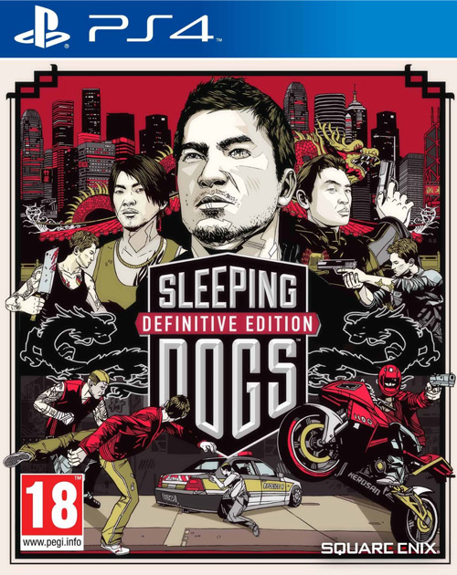 Sleeping Dogs: Definitive Edition PS4 Cover