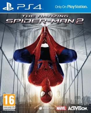 The Amazing Spider-Man 2 PS4 Cover