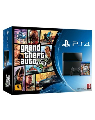 Sony ps4 with GTA V bundle