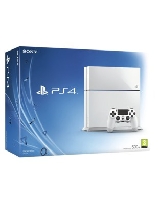 White Sony PS4 Box