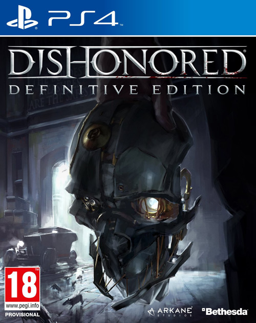 Dishonored: Definitive Edition PS4 Cover