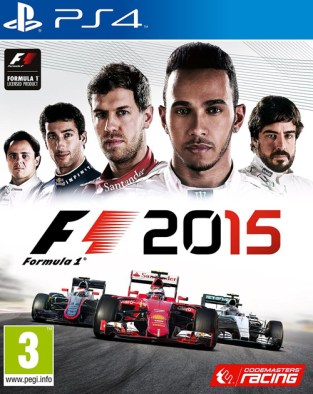 F1 2015 PS4 Cover