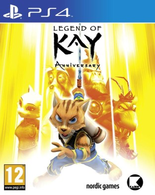 Legend of Kay Anniversary PS4 Cover