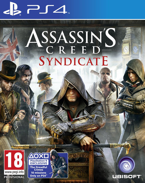 Assassin's Creed Syndicate PS4 Cover