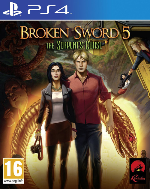 Broken Sword 5: The Serpent's Curse PS4 Cover