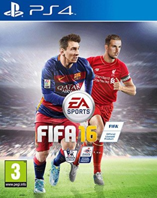 FIFA 16  PS4 Cover