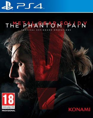 Metal Gear Solid V: The Phantom Pain PS4 Cover