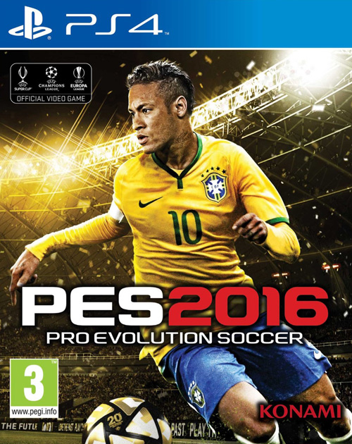 Pro Evolution Soccer 2016 PS4 Cover