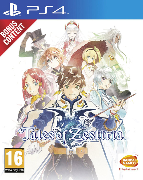 Tales of Zestiria PS4 Cover