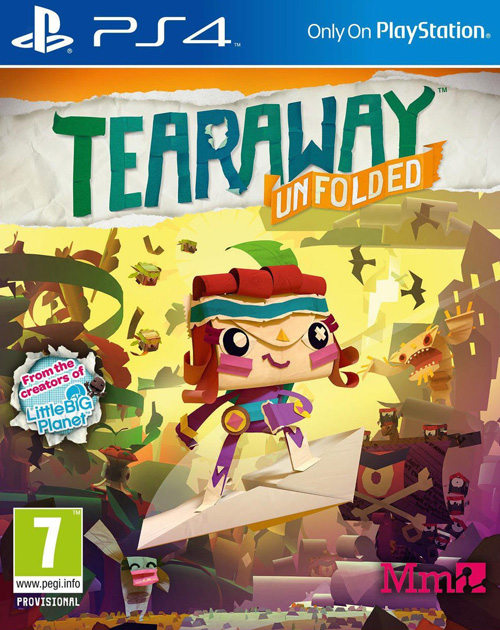 Tearaway Unfolded PS4 Cover