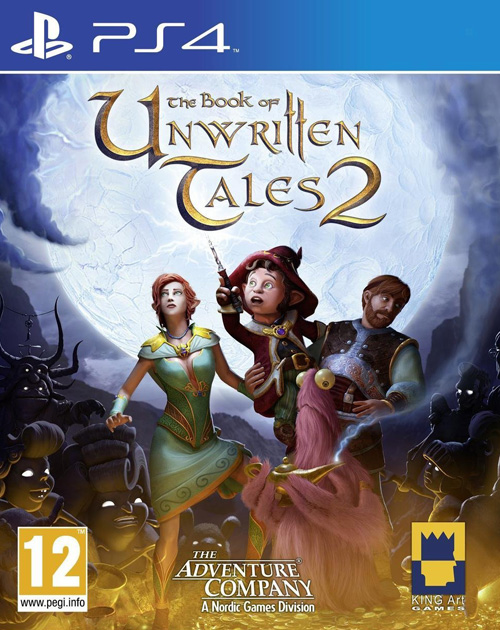 The Book of Unwritten Tales 2 PS4 Cover